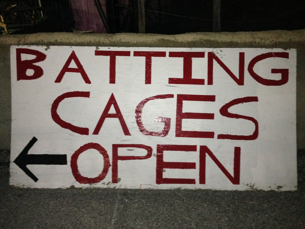 Batting Cages are open thru the Summer!