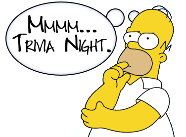 Homer Simpson would totally come and play free trivia @ Concord Lanes!